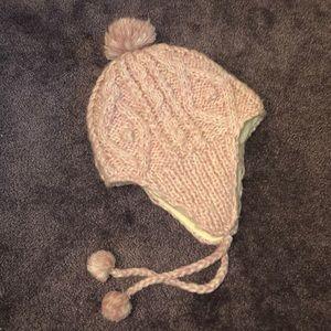 AE Pink Fleece Winter Hat